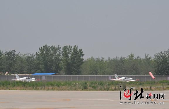 栾城通用航空机场私飞腾空而起
